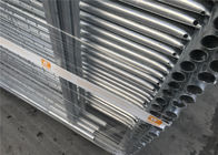 42mm tube 2.1m height 2.4m width temporary fencing panels materials q195 nelson temporary fence supplier