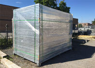1800mm x 2900mm HDG powder coated temporary construction site fence panels/Construction Security Fencing