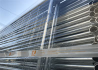 AS4687-2007 standard Construction Site Portable Temp Fence Panels NZS3750.15 Zinc Coated Minimum 42 microns hdg supplier