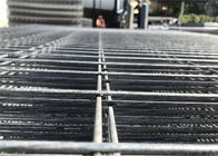 Hot dipped Galvanized Temporary Fencing Panels 42 microns hdg tube wall thick 2.00mm and wire 3.0 mm 60mm*150mm
