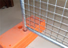 40mm tube wall thickness 2.0mm Mesh 75mm*75mm temporary fencing panels 2.1mx2.4m SYDNEY