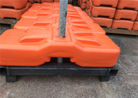 600 x 220 x 150mm HDPE temp fence base 10 year color no fading supplier