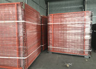 2.1mx2.4m OD 32mm wall thick Hot dipped galvanized temporary fence for Australia / New zealand supplier