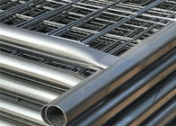 Hot dipped Galvanized Construction Fencing Panels 2.1mx3.6m Super Temp Fence Paneles -L supplier