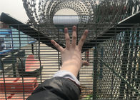 High Security Fence galvanized 358 Fence welded wire mesh panel fencing supplier