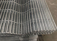 Powder Coating Galvanized 358 High Metal Security Wire Mesh Fence 12.6mm*76mm supplier
