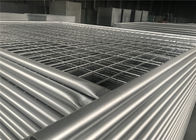 2.1m highx2.4m wide  second hand  steel temporary fencing panel supplier