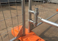 2100mm*2400mm OD 40mm x 2.0mm Easily Assembled Temporary Mesh Fence For Concerts / Festivals / Gatherings. supplier