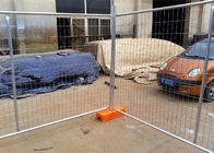 2100mm x 2500mm temporary fencing panels for melbourne market OD40mm x 2.00mm mesh 60mm x 150mm supplier