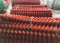 NZ Orage Color Powder Coated Chain Wire Mesh Of Rubbish Cage supplier