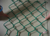 Black Vinyl Coated Chain Link Fabric supplier