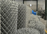 "ASTM A 392-03 610gram/sqm chain link fabric 5ft height with a 2"" mesh aperture supplier"