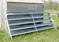 51″ inches in height Consist of 2″ Galvanized O.D. round tubular steel farm fence supplier