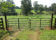 Horse Corral Panels Powder Coated 6 Bars Cattle for Famr and Yard supplier