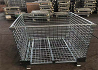 Steel Foldable Wire Pallet; Wire Container; Wire cage; Warehouse cage supplier