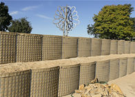 Mil 10 Hot Dipped Galvanized Hesco Barrier Wall Price, Military Hesco Bastion supplier