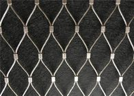 Hand Woven Flexible Animal Protection Stainless Steel Cable Wire Mesh supplier