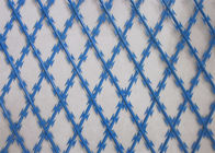 Welded Razor Wire Mesh Panel Industrial Fence supplier