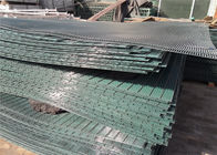 Galvanized and Powder Coated 76.2MM X 12.7MM 358 Fence Panel 5207 × 2515 supplier