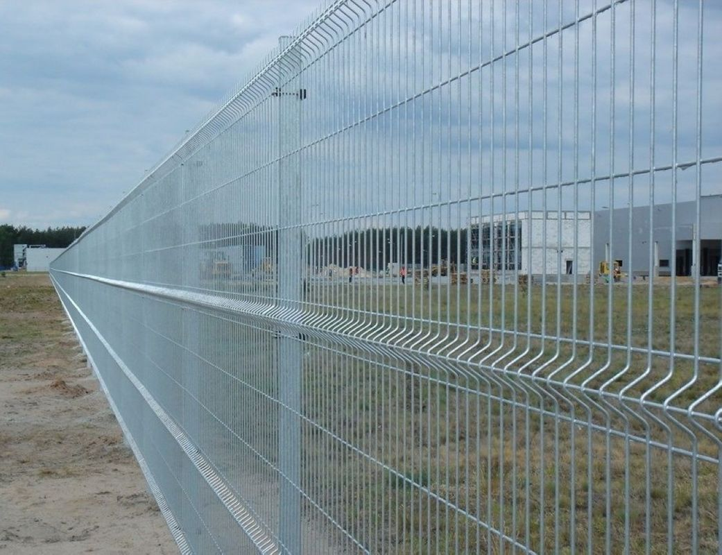 PVC coated hot dipped galvanized nylofor 3d welded wire mesh fence ...