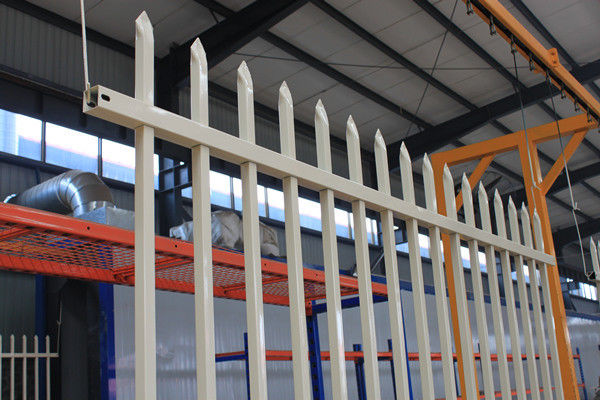 High security fence/Tubular steel security fencing/Australia commercial fencing supplier