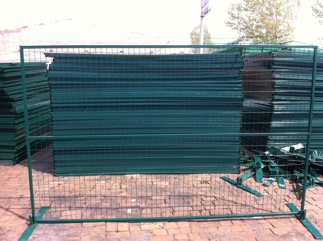 Hot sale low price galvanized Canada temporary fence (High quality and high security) supplier