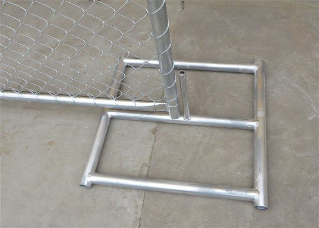 "6'x12' ,8foot x 12foot construction chain link fence panels  2⅜""x2⅜""(60mmx60mm) 2½""x2½""(63mmx63mm) Tubing 16ga x1⅝""42mm supplier"