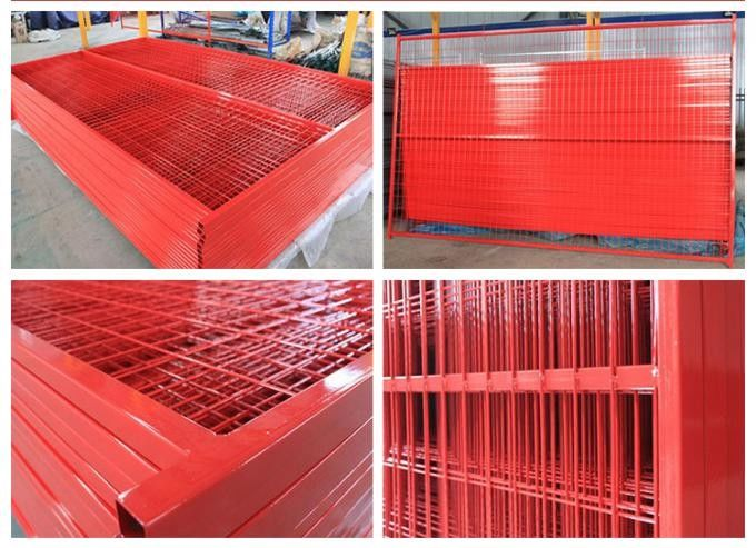 Canada Temporary Wire Mesh Fence Panels 8\'/2430mmx 9.5\'/2900mm width ...