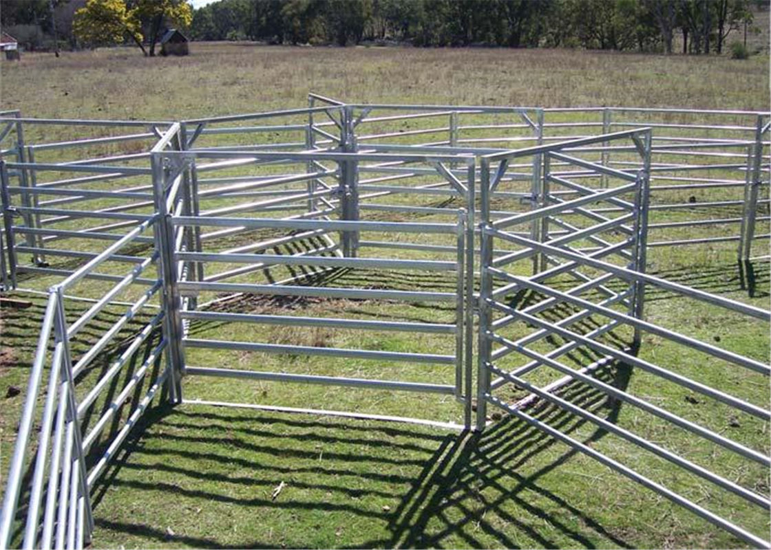 Heavy duty galvanized livestock cattle panel used corral panels supplier