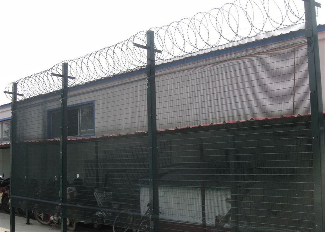 Factory price 2x2 welded wire security fence prison mesh