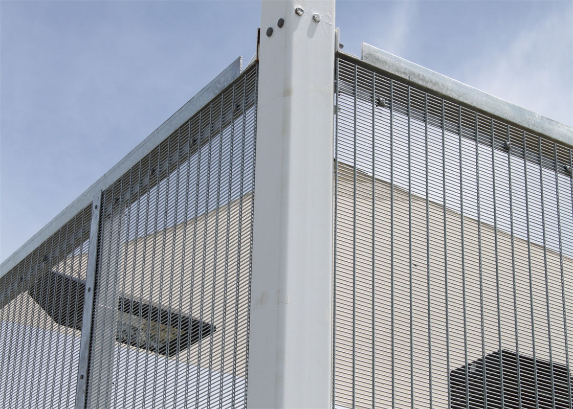 Galvanized or PVC Coated 358 Anti-Climb High Security Fence supplier