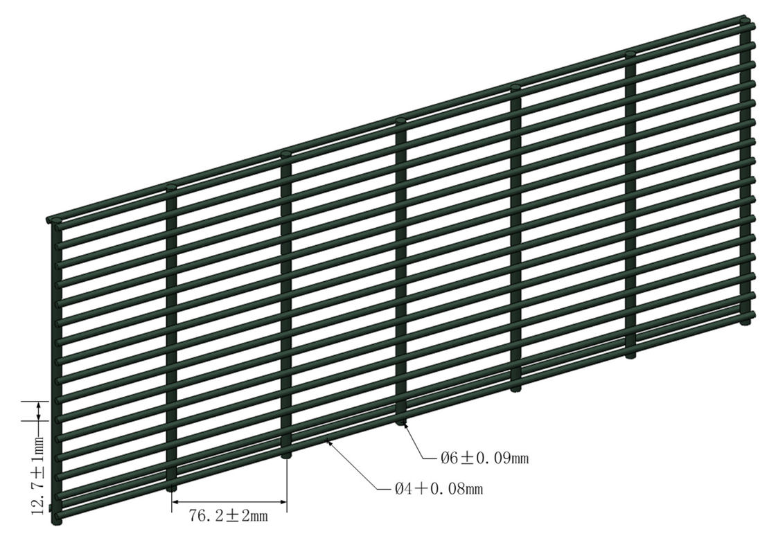Anti-Climb High Security Wire Fencing supplier