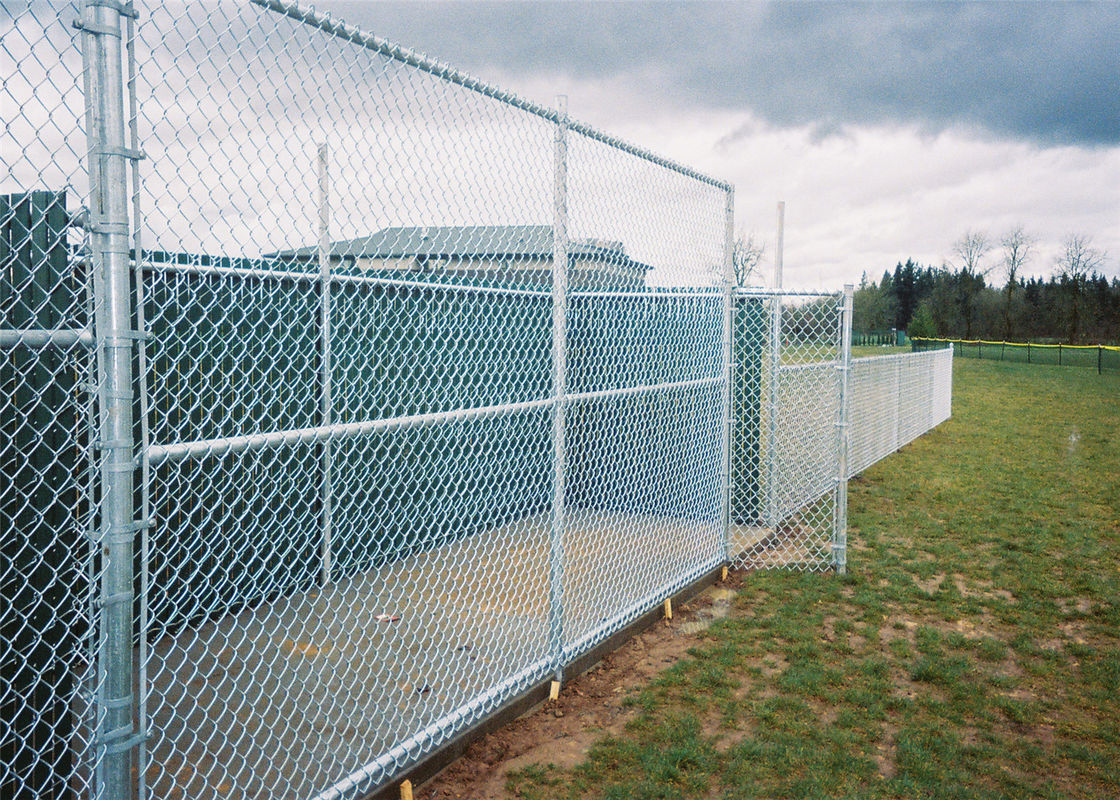 Chain Link Fence Galvanized Iron Wire Mesh Stainless Steel Knuckle ...