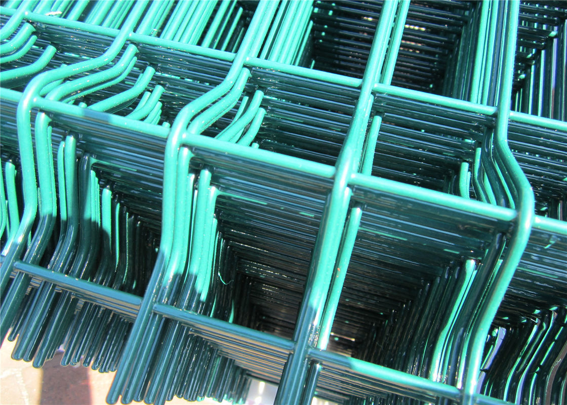 2030mm x 2500mm Wire Fence Panels High Quality With V beams ,RAL ...