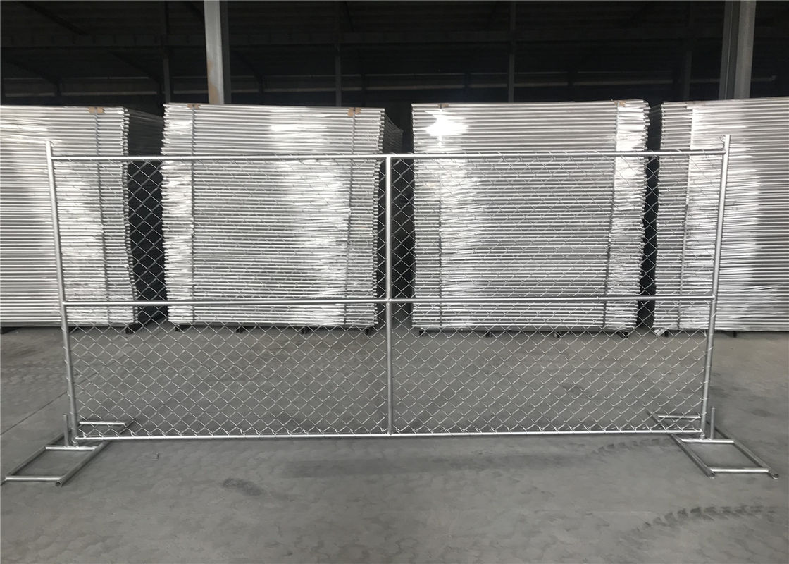 8FT X 12FT 12.5GA wire 38mm outer tubing temp chain link ...