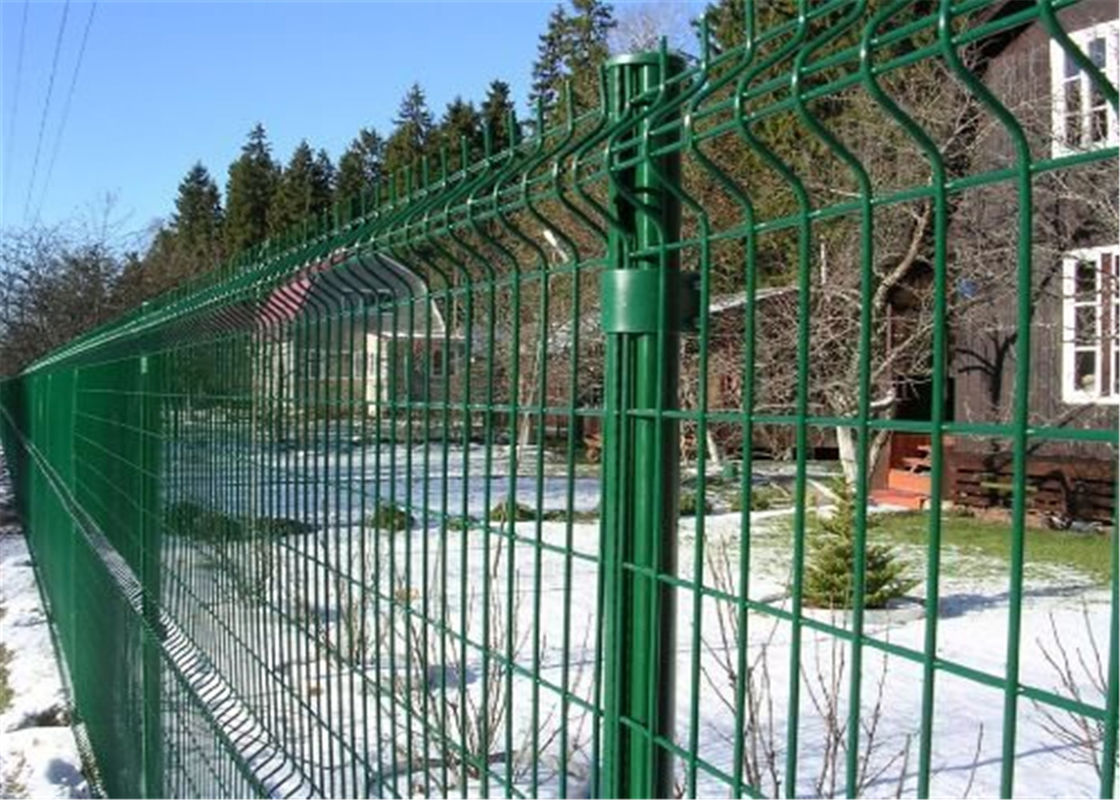 PVC Powder Coated Galvanized Metal Welded Wire Mesh Fence supplier