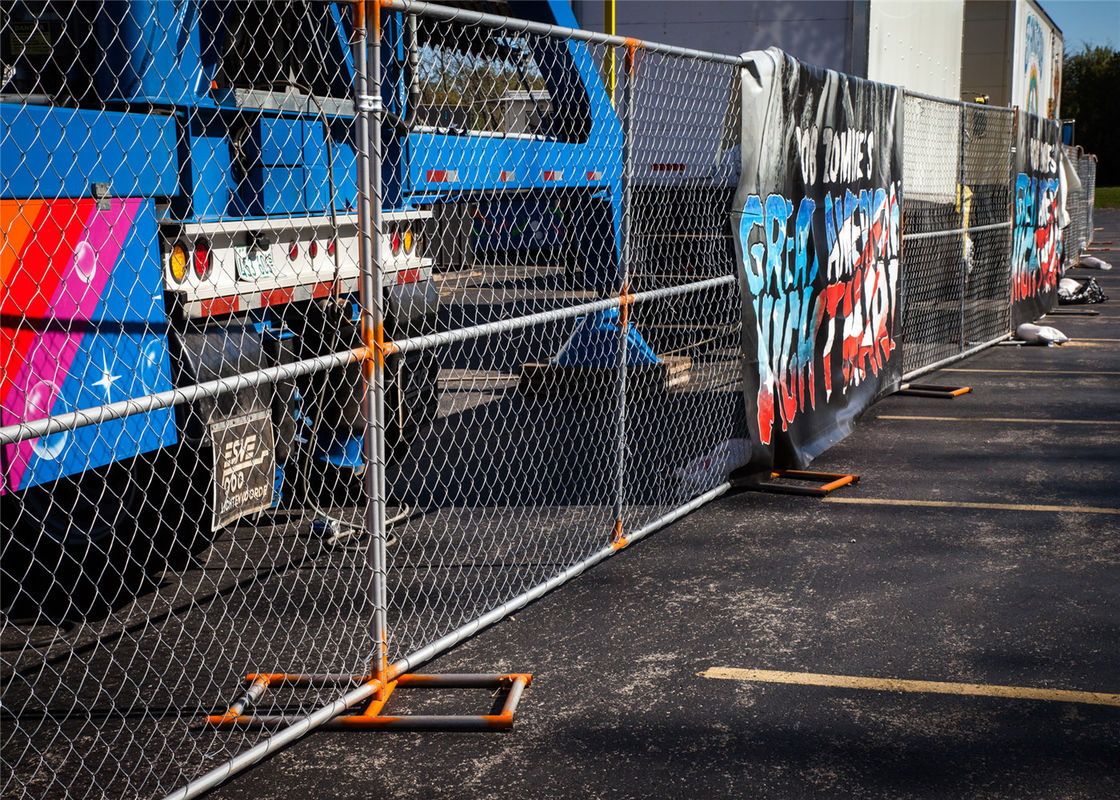 "Temporary Chain Link Fence 6'x12' 1.25"" tube x 16 Ga wall thick supplier"