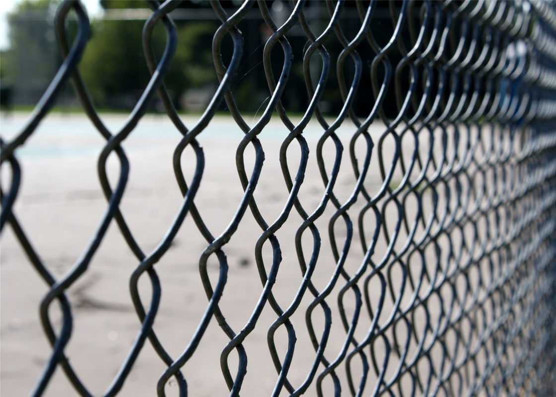 60mm x 60mm x 4.00mm PVC coated Cylone Wire Fence Panels
