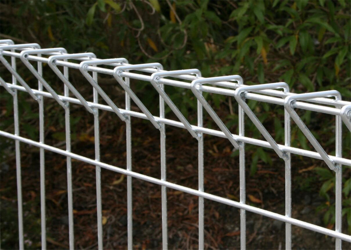 Welded Wire Panel Fence | Hot Dipped Galvanized Brc Welded Mesh Panel Fencing Roll Top Fence