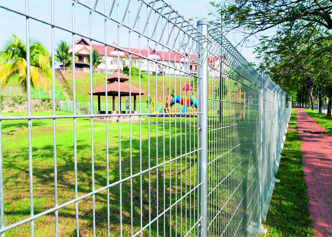 BRC Fencing China Manufacturer Supply To Malaysia, Hot Dipped Galvanized BRC fence Panels, Available Customized supplier