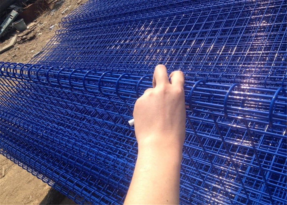 decorative Double Loop Wire Fence/Double Roll Top Welded Fence/Double Wire Loop Yard Fence direct Anping factory supplier