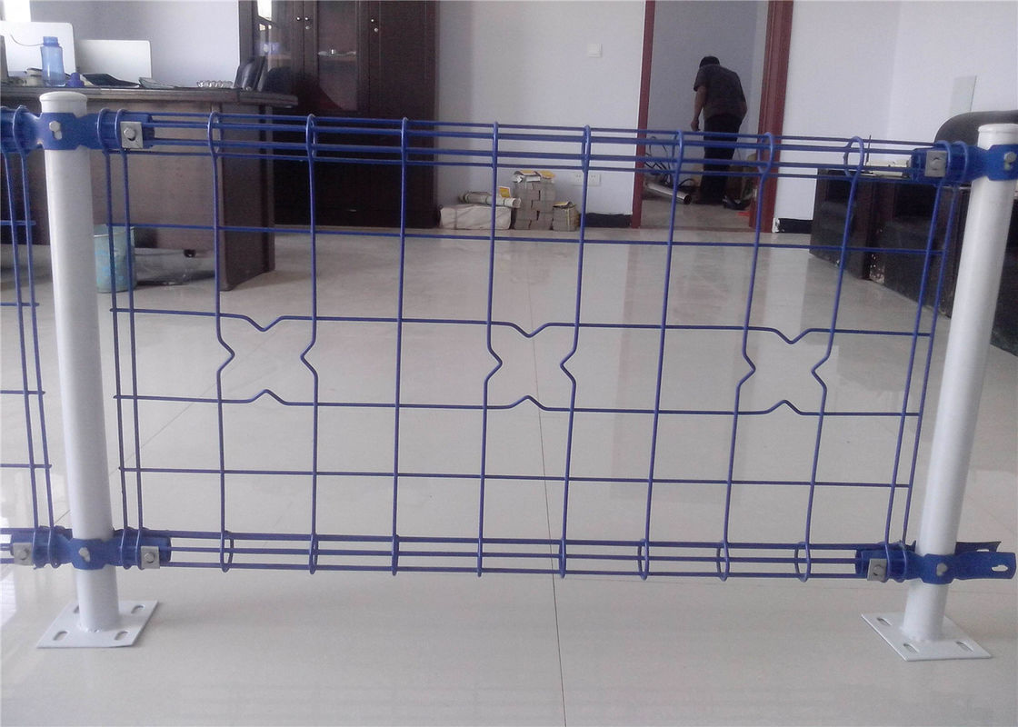 decorative Double Loop Wire Fence/Double Roll Top Welded Fence ...