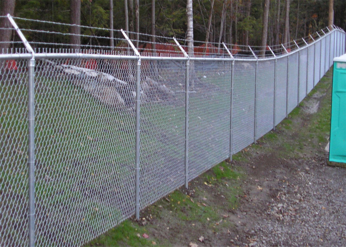 PVC Coated Chain Link Fence manufacture supply/Decorative chain Link ...