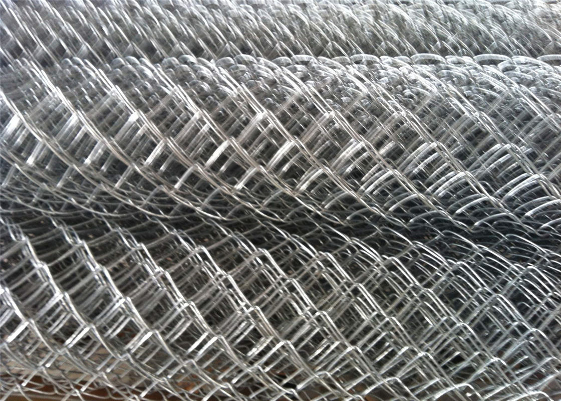Black Vinyl Coated Steel Chain Wire Fence Cyclone Wire