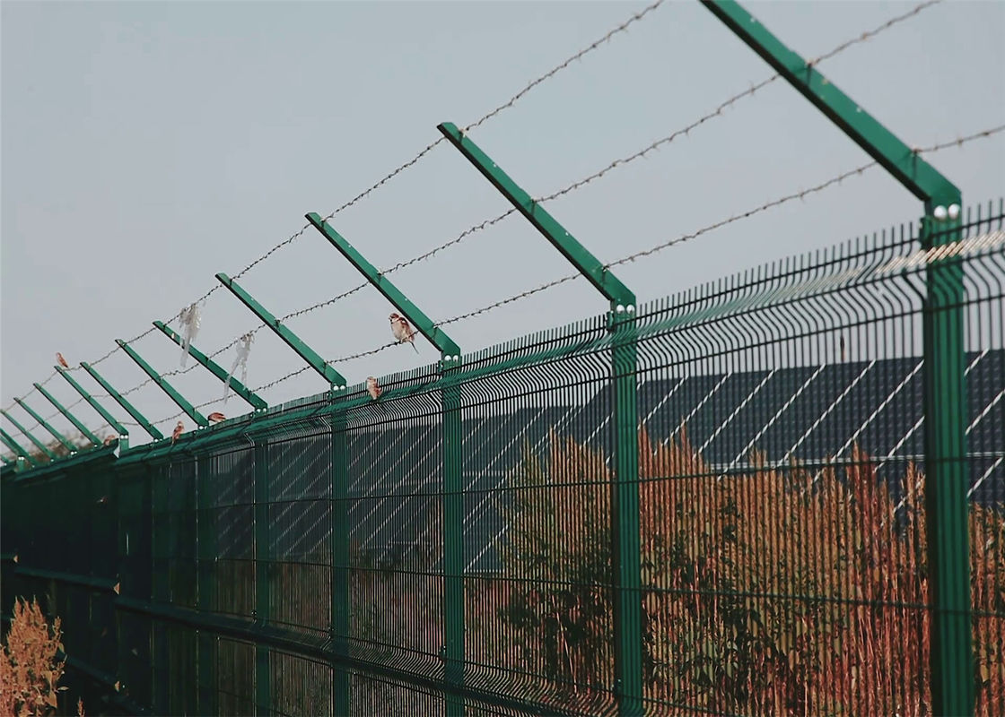 Weld Wire  Mesh Fence supplier