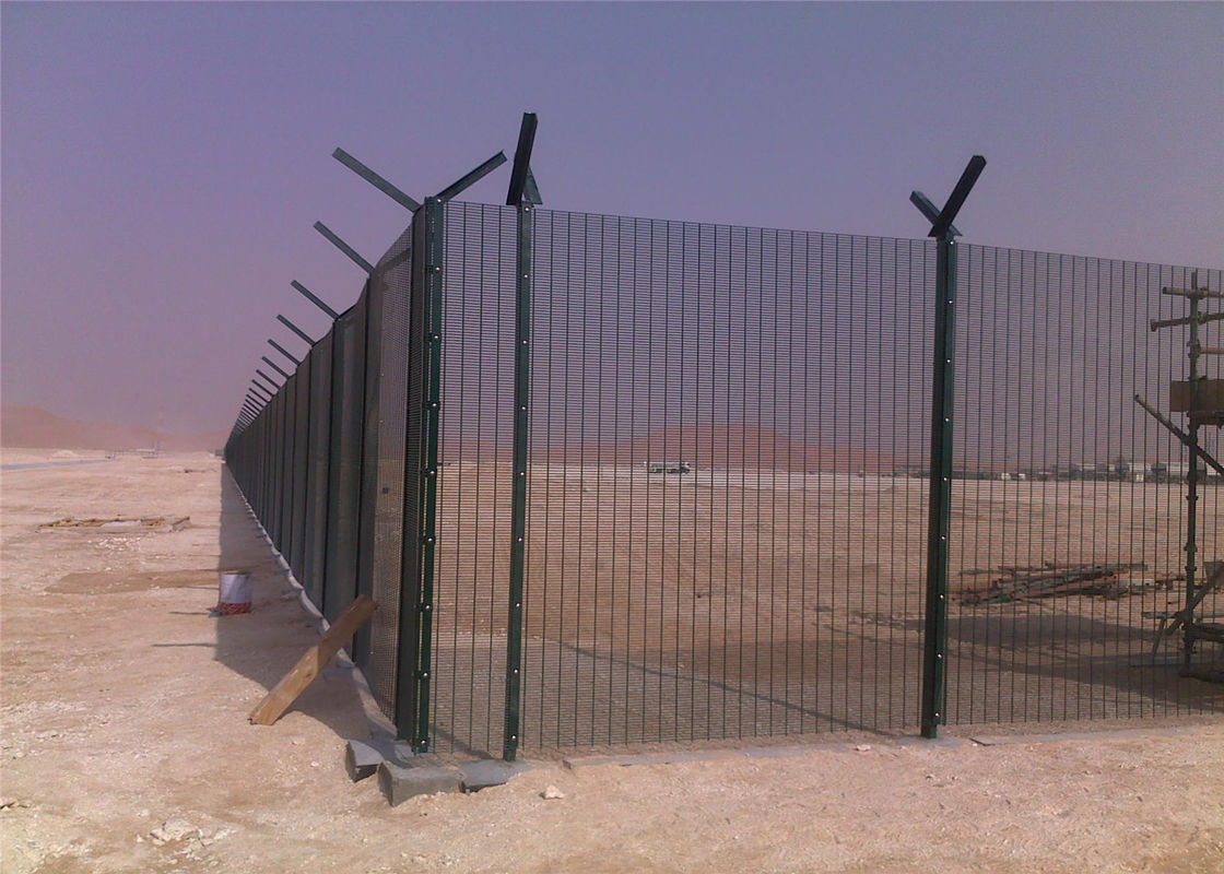 358 Clearview Security Wire Fencing Panels 2000mm x 2515mm  4.00mm x 76x12.7mm High Density Mesh supplier
