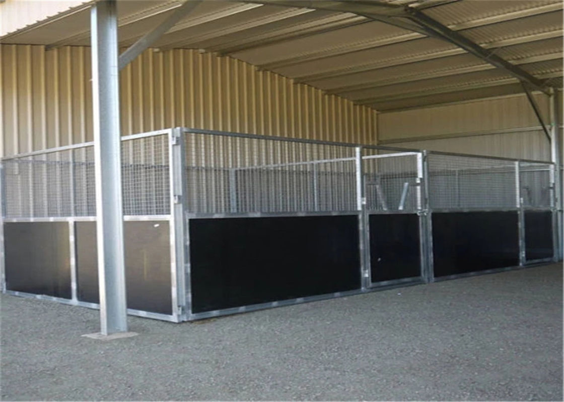 temporary horse stable with roofing 2200mm x 3600mm supplier