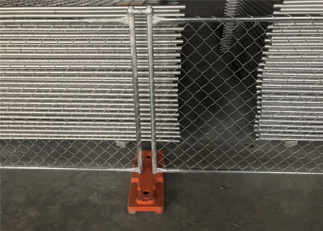 6'x10' chain link construction fencing panels od32mm wall thickness 1.6 wall thickness Mesh 63mm x 63mm ASTM396 standard supplier