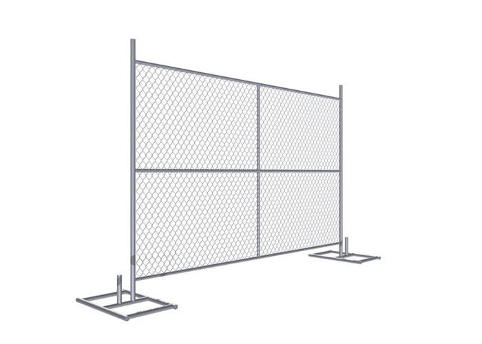 "Cross brace 6'x8' Construction Fence Panels 1.625"" /41.2mm Tube Wall Thick 16 gauge Mesh 2.25"" supplier"