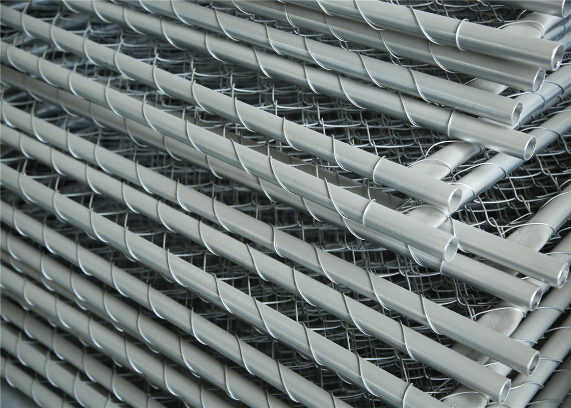 Construction Chain Link Fence Panels Astm 396 Standard Hot